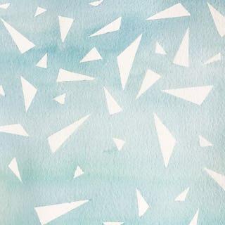 Feifei feng art watercolor abstract snow kites