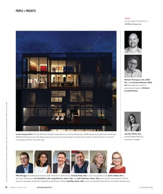 Level architecture incorporated chicago architect ravenswood announcement