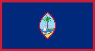 Flag of guam svg