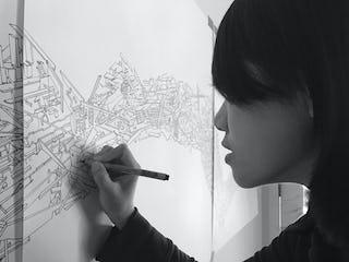 Feifei feng drawing faultline