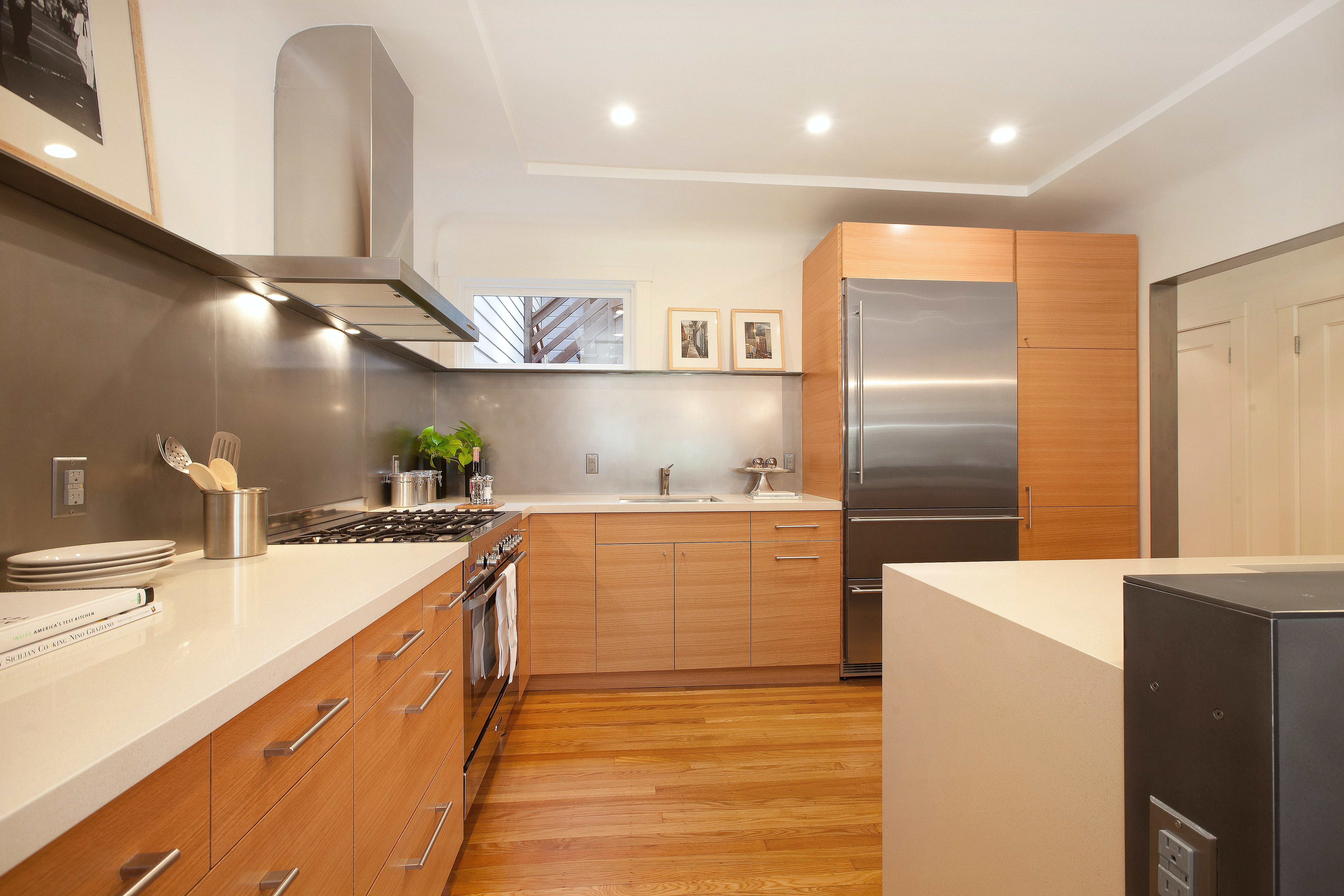 Builtform construction 20th st kitchen wood steel modern 2