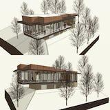Modern house harbor springs