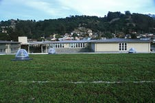 Portola valley korematsu middle school gym living roof