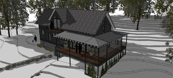 Modern farmhouse up north michigan architecture north45