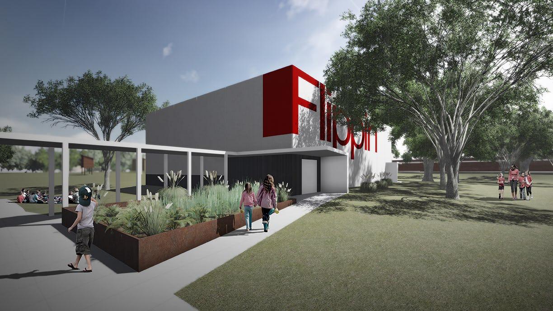 13 48 flippin elementary school fema entry rendering lo res