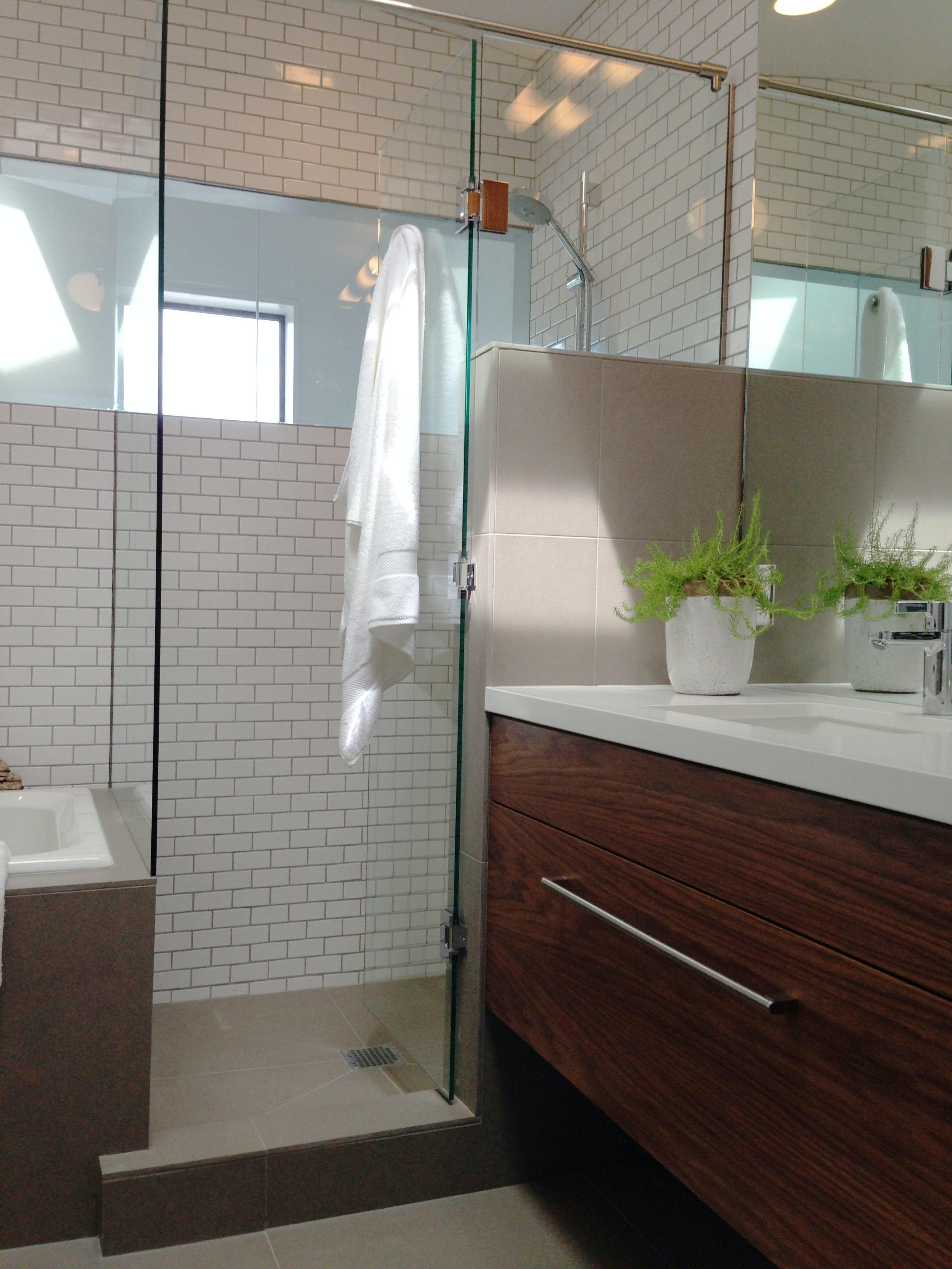 Builtform construction  steelhouse1 2 wood tile modern bathroom