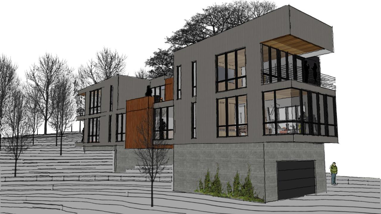 Modern architect northern michigan
