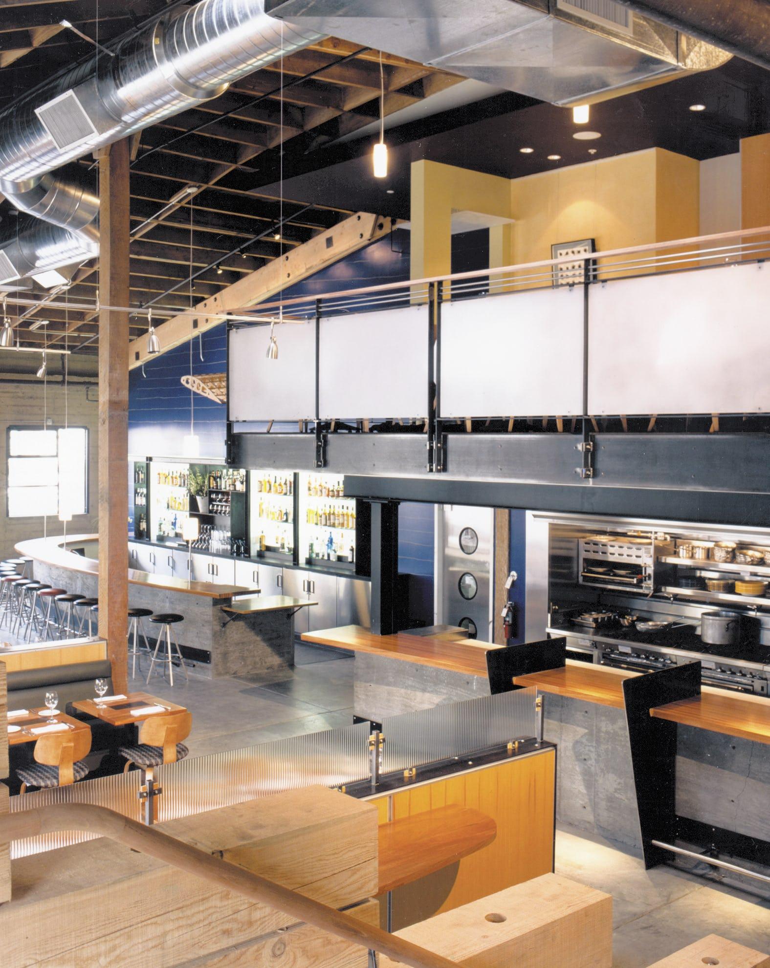 Builtform construction gordons wood restaurant modern smaller copy