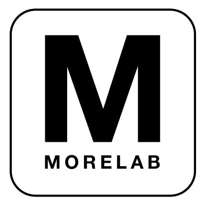 Morelab white rounded