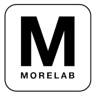 Morelab white rounded