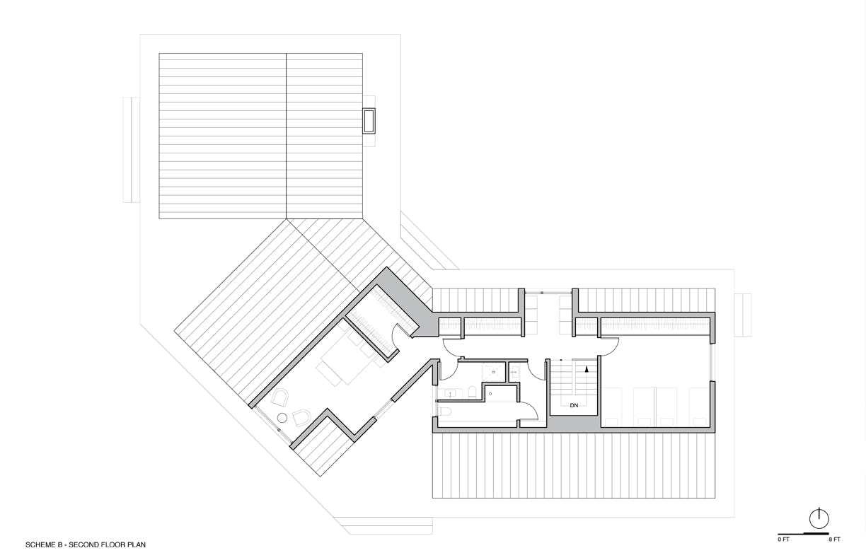 Option b second floor plan