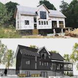 Modern farmhouse petoskey michigan architect house 95