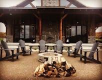 Six mile lake rustic  hunting cabin northern michigan architect