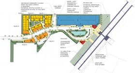Illustrative site plan background