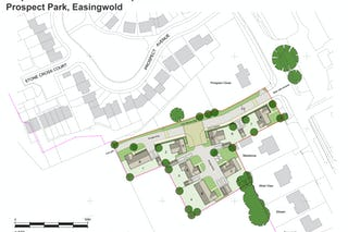 1192 03 a thirsk road easingwold  indicative site layout a2 colour 21 04 20