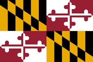 Flag of maryland svg