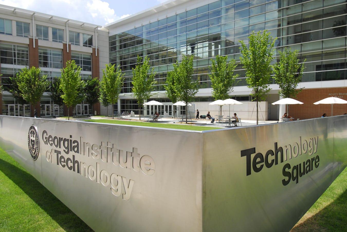 Georgia tech scheller outside