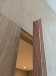 Ply door edge