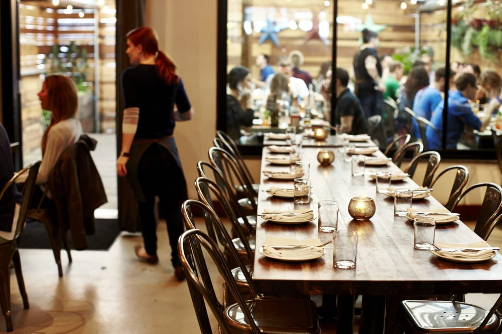 Satrbelly builtform construction san francisco modern salvaged wood dining tables