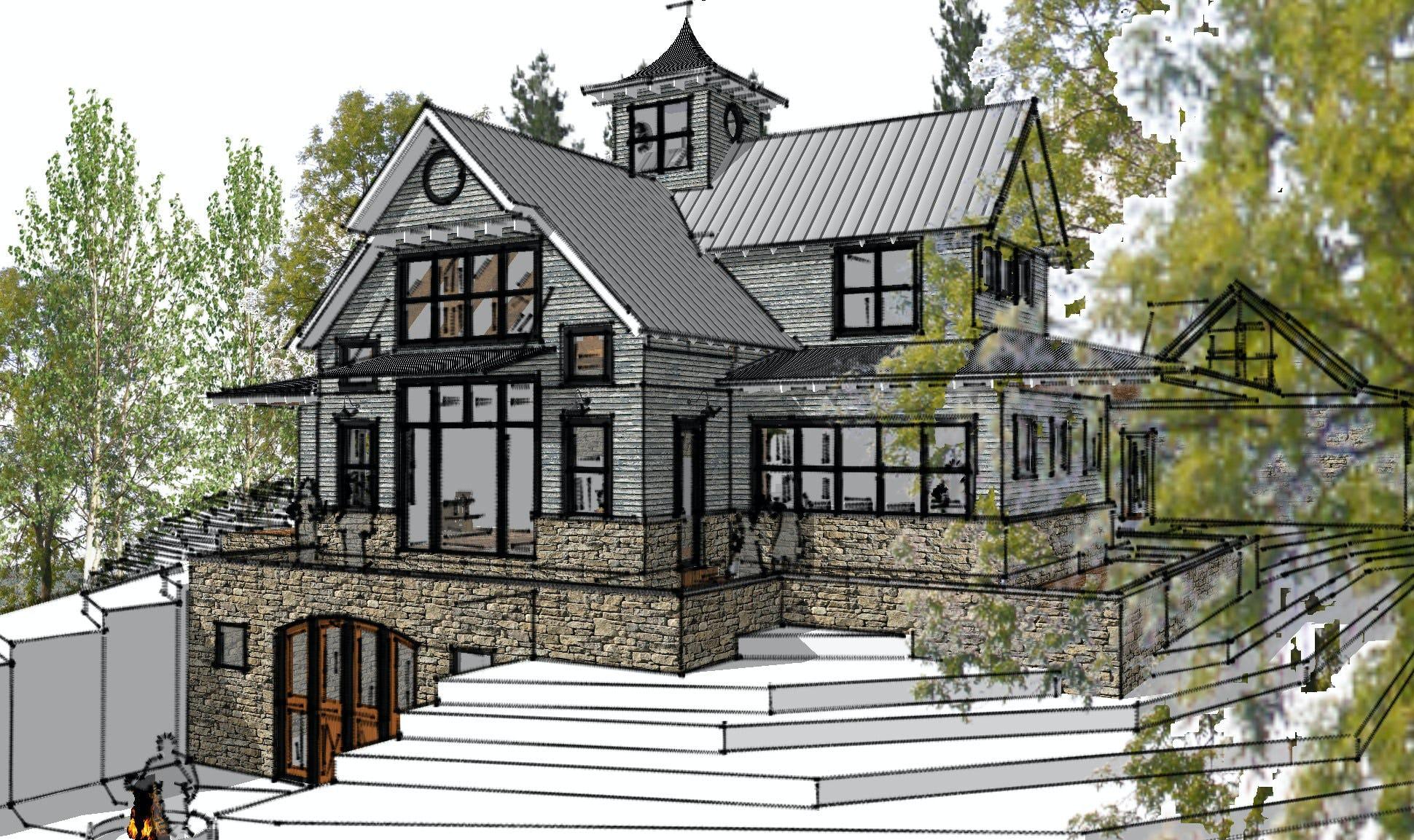 Modern  farmhouse petoskey