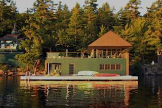 Muskoka boat house 3 1