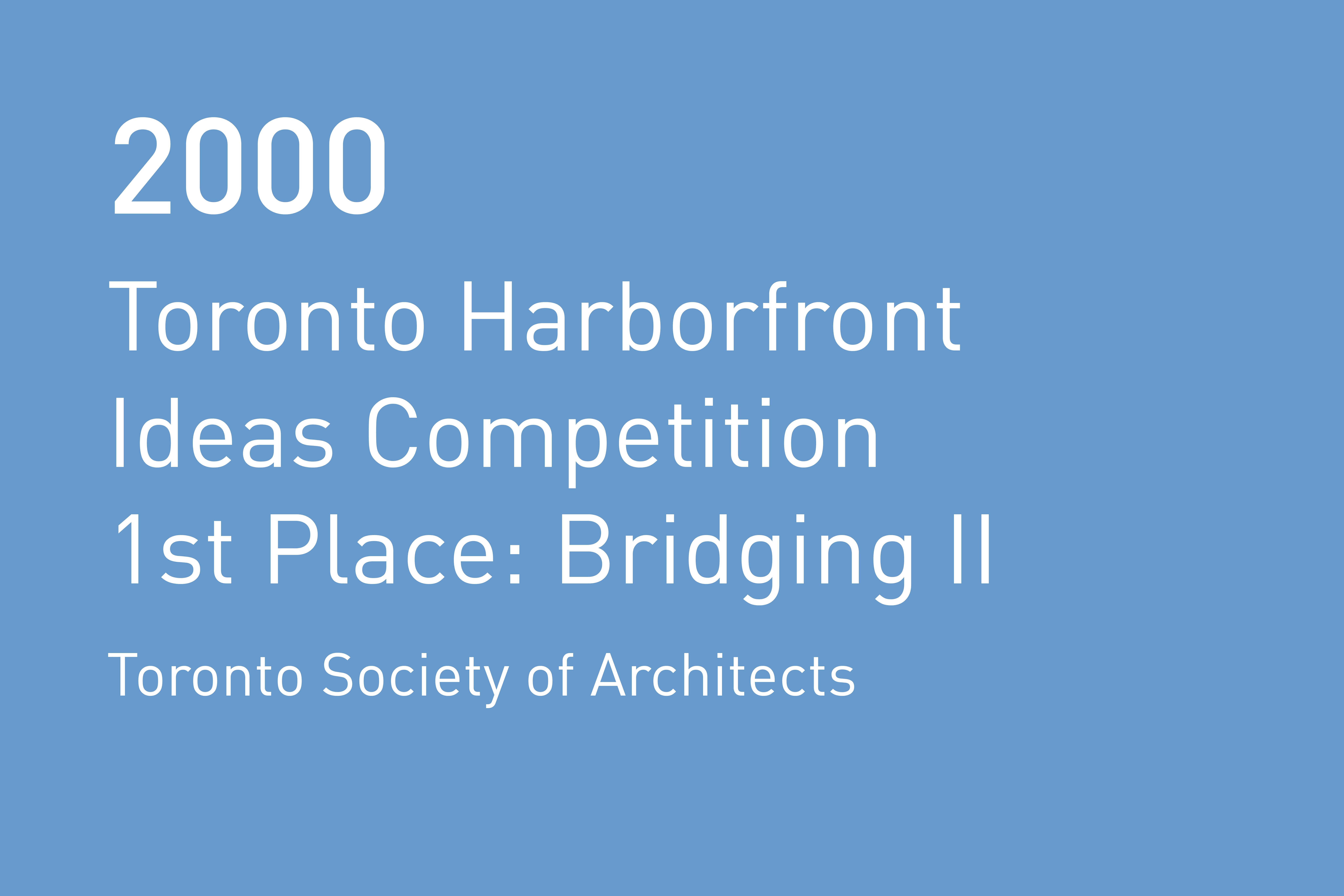 Rvtr 2000 toronto society of arch