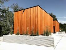 Camp petosega emmet county bathrooms modern