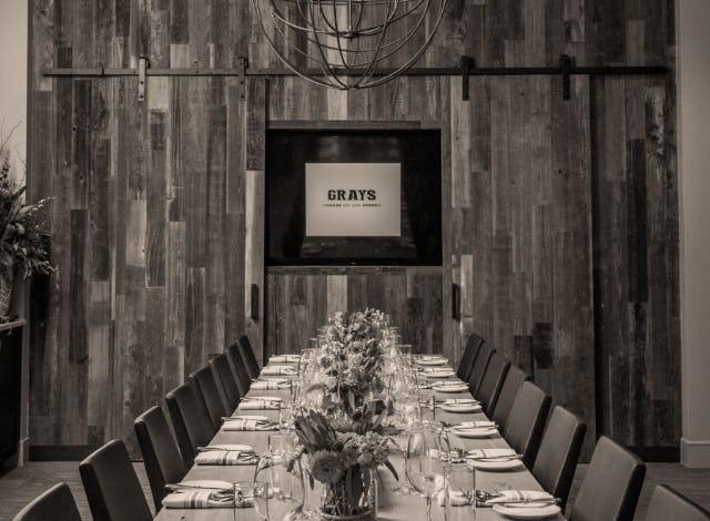 Siteworks grays restaurant