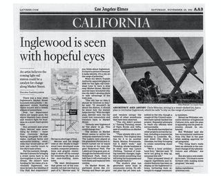 Cleaned up version of newpaper article