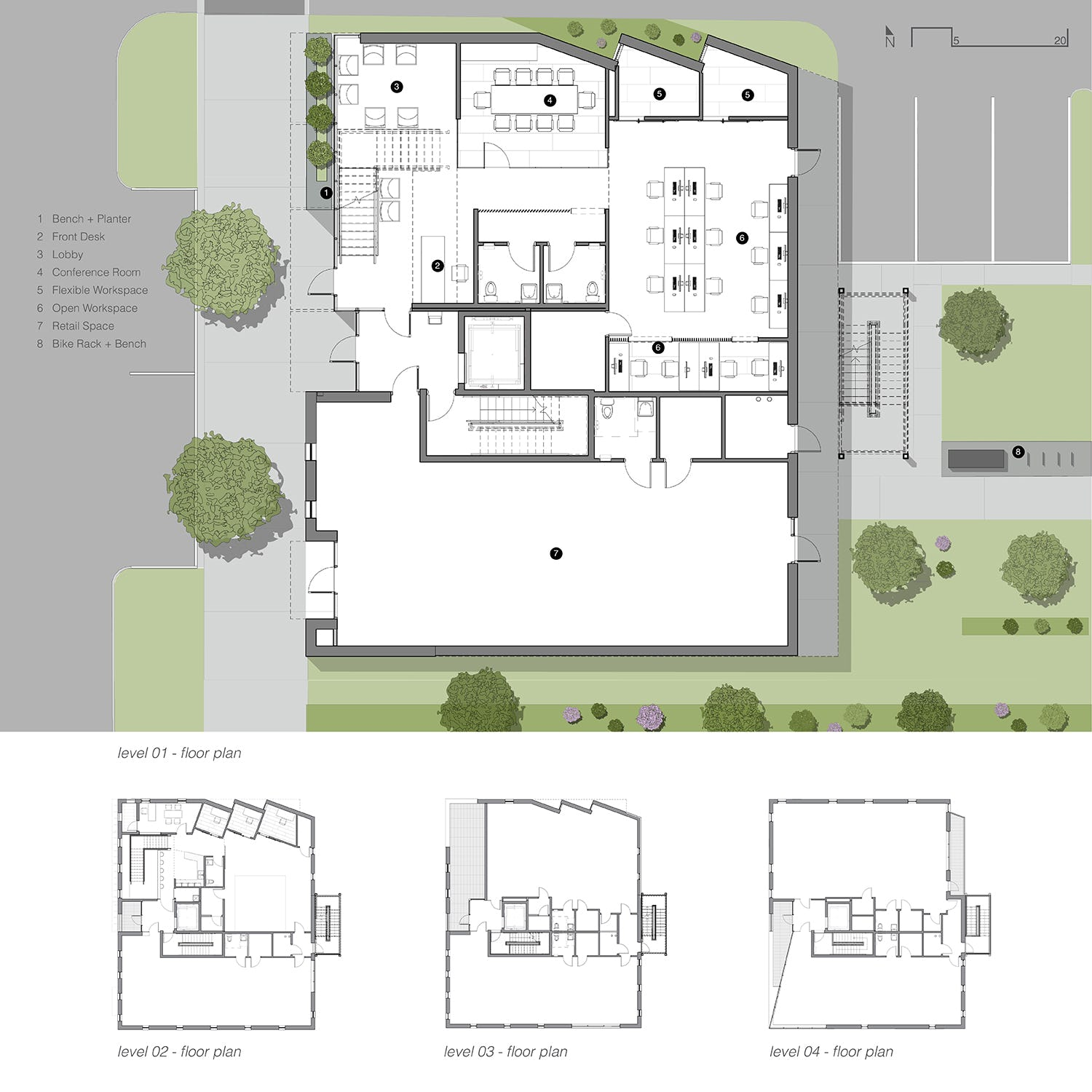 Modus studio main x mdrn floor plans