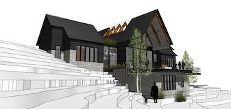 North45 architecture house91 modern sturgeon bay