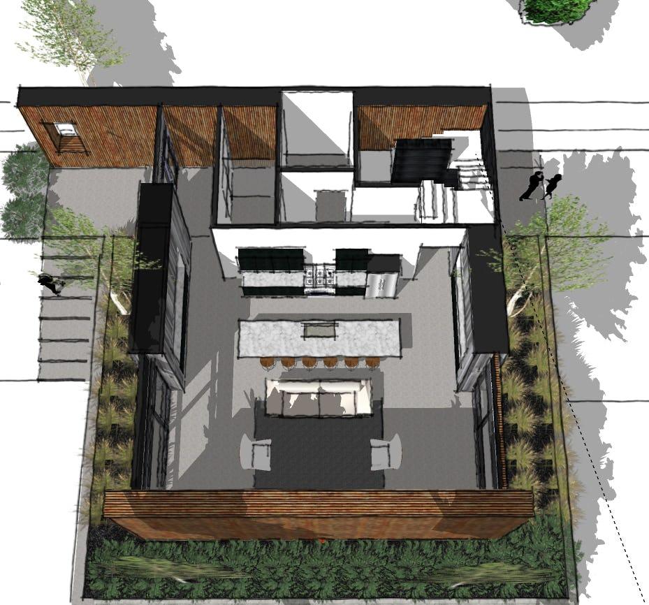 Minimalist cabin petoskey architecture
