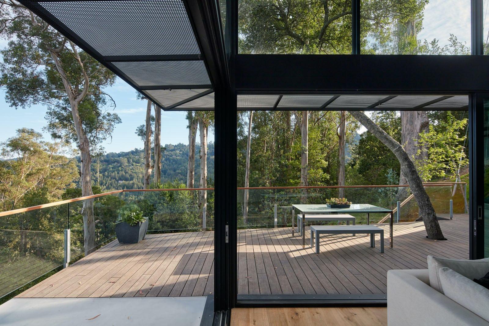 Builtform construction 441tamresidence indoor outdoor room balcony modern smaller
