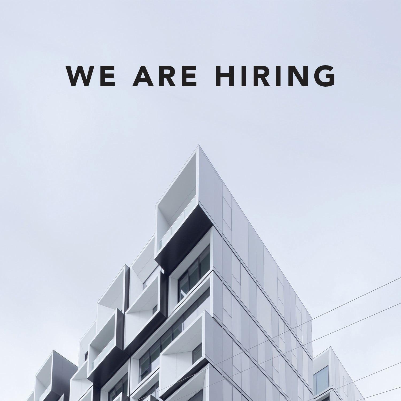 We are hiring nov 2016