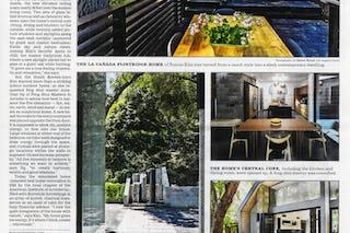La times kim newspaper page