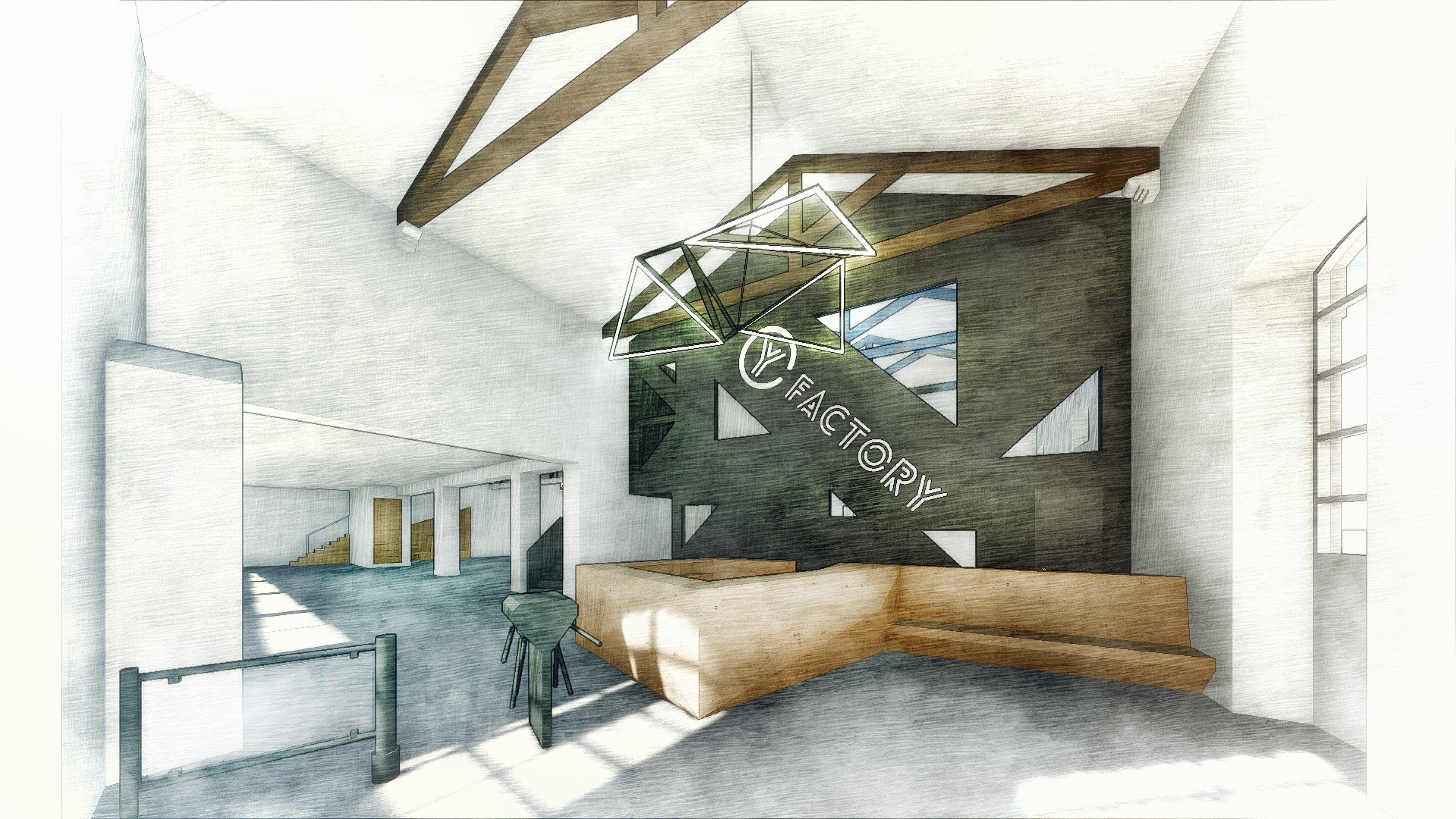 Noz arquitectura architecture gym fitness factory